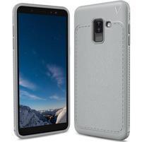 IVS odolný gelový obal na Samsung Galaxy A6+ (2018) - šedý