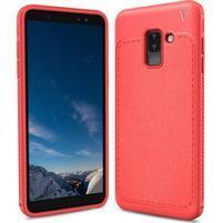 IVS odolný gelový obal na Samsung Galaxy A6+ (2018) - červený