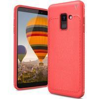 IVS odolný gelový obal na Samsung Galaxy A6 (2018) - červený