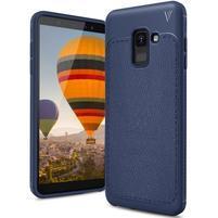 IVS odolný gelový obal na Samsung Galaxy A6 (2018) - tmavě modrý