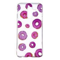Soft silikonový obal na Samsung Galaxy A6 Plus - donutky