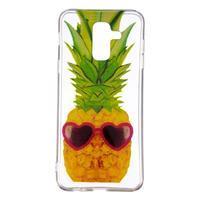 Soft silikonový obal na Samsung Galaxy A6 Plus - ananas