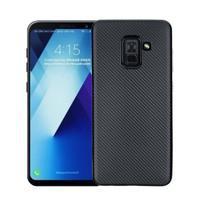 Carbon gelový obal na Samsung Galaxy A8 Plus (2018) - černý