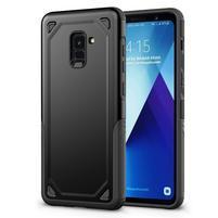 Rougy hybridní odolný obal na Samsung Galaxy A8 Plus (2018) - černý