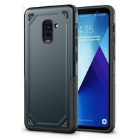 Rougy hybridní odolný obal na Samsung Galaxy A8 Plus (2018) - tmavěmodrý
