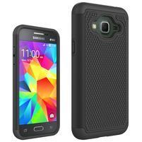 Footy odolný obal na Samsung Galaxy J3 (2016) - černý