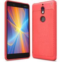 Carbo odolný gelový obal na Nokia 7 - červený