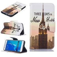 Bossi knížkové zapínací pouzdro na Samsung Galaxy J5 (2016) - New York