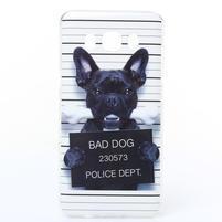 Funy gelový obal na Samsung Galaxy J5 (2016) - zlý pes