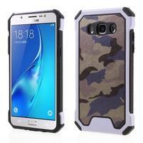 Army outdoor odolný obal na mobil Samsung Galaxy J5 (2016) - fialový