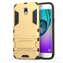 Defender odolný obal na mobil Samsung Galaxy J5 (2017) - zlatý