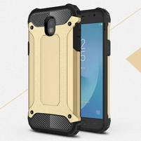 Armory odolný obal na Samsung Galaxy J5 (2017) -  zlatý