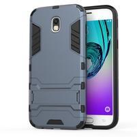 Defender odolný obal na mobil Samsung Galaxy J5 (2017) - šedomodrý