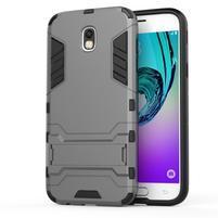 Defender odolný obal na mobil Samsung Galaxy J5 (2017) - šedý
