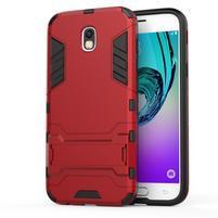 Defender odolný obal na mobil Samsung Galaxy J5 (2017) - červený