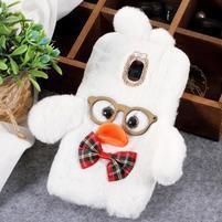 Duck silikonový kryt pro Samsung Galaxy J6 - bílý