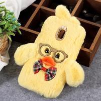 Duck silikonový kryt pro Samsung Galaxy J6 - žlutý