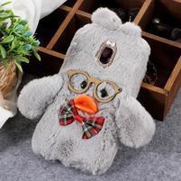 Duck silikonový kryt pro Samsung Galaxy J6 - šedý