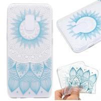 Printy gelový obal na mobil Samsung Galaxy J6 - modrá mandala