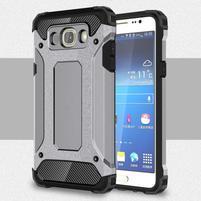 Armory odolný obal na mobil Samsung Galaxy J7 (2016) - šedý