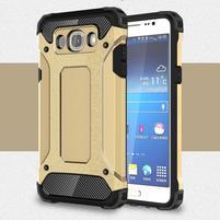 Armory odolný obal na mobil Samsung Galaxy J7 (2016) - zlatý