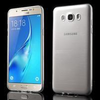 Slim ultratenký gelový obal na Samsung Galaxy J7 (2016) - transparentní