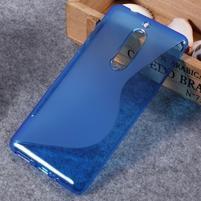 S-line gelový obal na mobil Nokia 5 - modrý