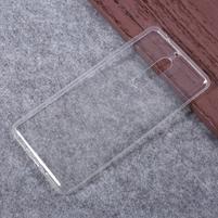 Průhledný gelový obal na mobil Nokia 5