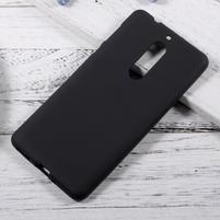 Matts gelový obal na mobil Nokia 5 - černý