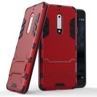 Defender odolný obal na mobil Nokia 5 - červený