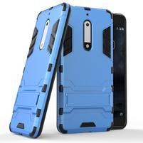 Defender odolný obal na mobil Nokia 5 - světlemodrý