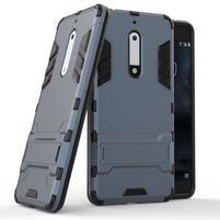Defender odolný obal na mobil Nokia 5 - šedomodrý