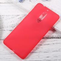 Matts gelový obal na mobil Nokia 5 - červený