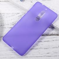 Matts gelový obal na mobil Nokia 5 - fialový