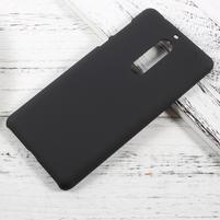 Pogumovaný plastový obal na mobil Nokia 5 - černý