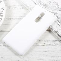 Pogumovaný plastový obal na mobil Nokia 5 - bílý