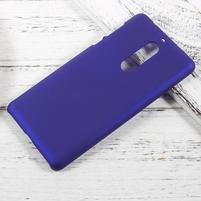 Pogumovaný plastový obal na mobil Nokia 5 - tmavěmodrý