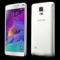 Transparentní gelový obal na Samsung Galaxy Note 4