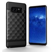 Hybridní 2v1 odolný obal na Samsung Galaxy Note 8 - černý