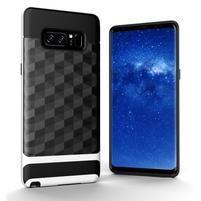Hybridní 2v1 odolný obal na Samsung Galaxy Note 8 - bílý