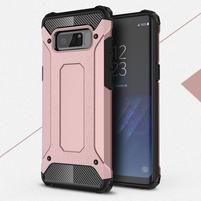 Armory odolný obal se zesílenými rohy Samsung Galaxy Note 8 - růžovozlatý