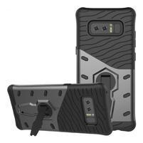 GT odolný obal s otočným stojánkem na Samsung Galaxy Note 8 - šedý
