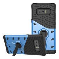 GT odolný obal s otočným stojánkem na Samsung Galaxy Note 8 - modrý