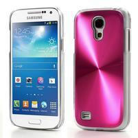 Metalický obal na Samsung Galaxy S4 mini - rose