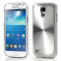 Metalický obal na Samsung Galaxy S4 mini - stříbrný