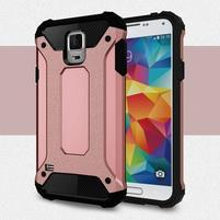 Armory odolný obal na Samsung Galaxy S5 - rosegold