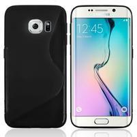 S-line galový obal na Samsung Galaxy S6 Edge - černý
