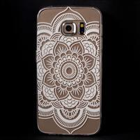 Flower gelový obal na Samsung Galaxy S6 Edge - mandala