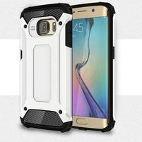 Armory odolný obal na Samsung Galaxy S6 Edge - biely