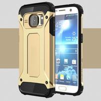 Armory odolný obal na mobil Samsung Galaxy S7 - zlatý